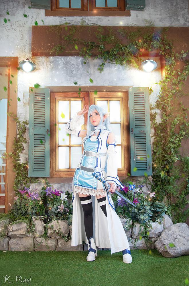 Tomia hóa thân thành Asuna Yuuki - Ảnh 11