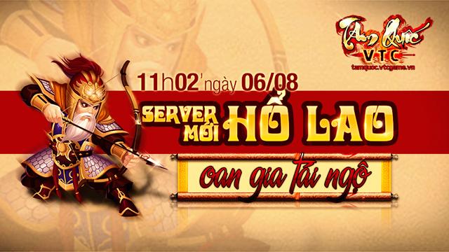 Tặng giftcode Hổ Lao game Tam Quốc VTC 2