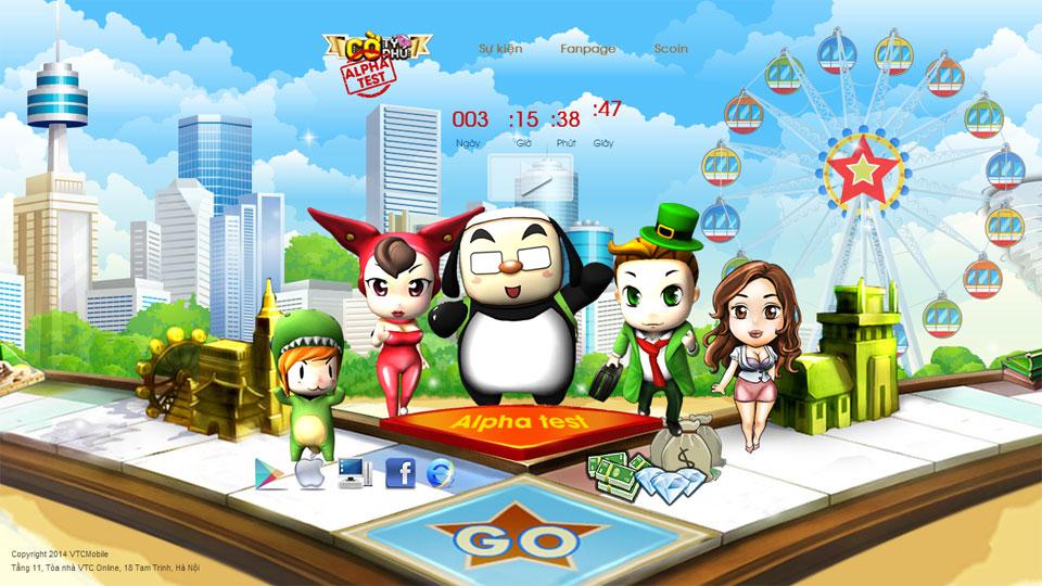 VTC Mobile trình làng game mới Cờ Tỷ Phú 2