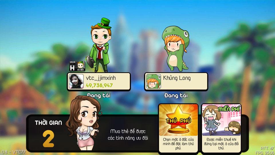VTC Mobile trình làng game mới Cờ Tỷ Phú 10