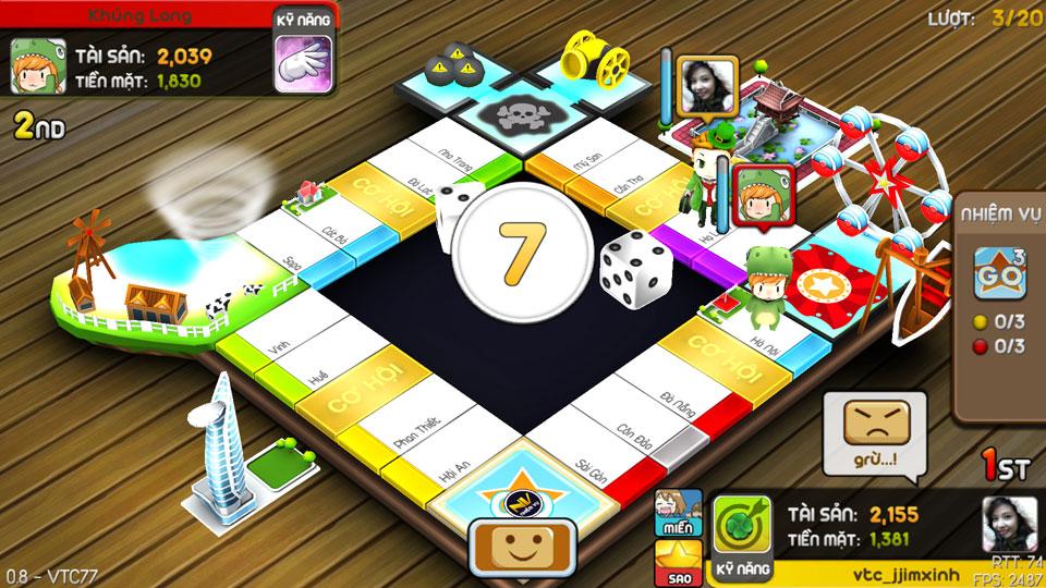 VTC Mobile trình làng game mới Cờ Tỷ Phú 11