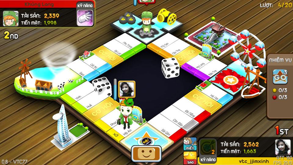 VTC Mobile trình làng game mới Cờ Tỷ Phú 12