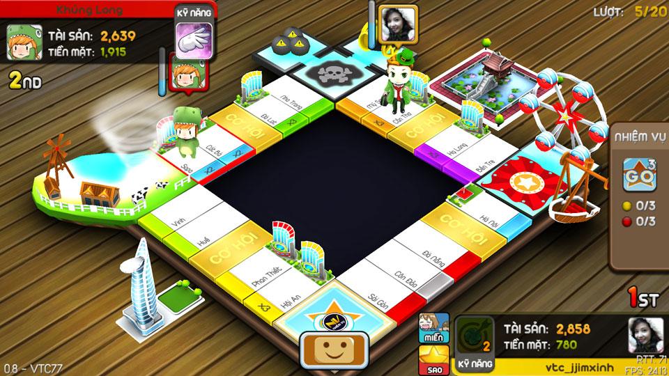 VTC Mobile trình làng game mới Cờ Tỷ Phú 13