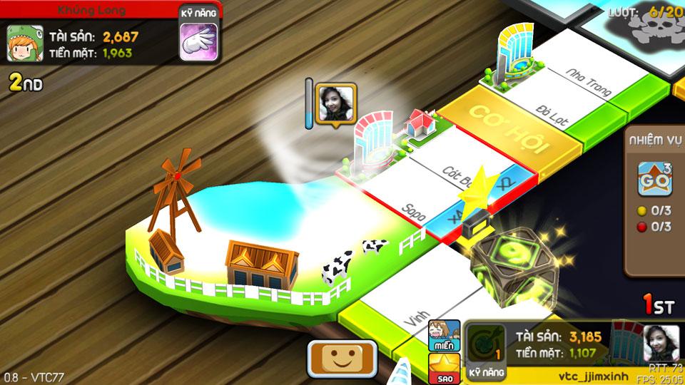 VTC Mobile trình làng game mới Cờ Tỷ Phú 14