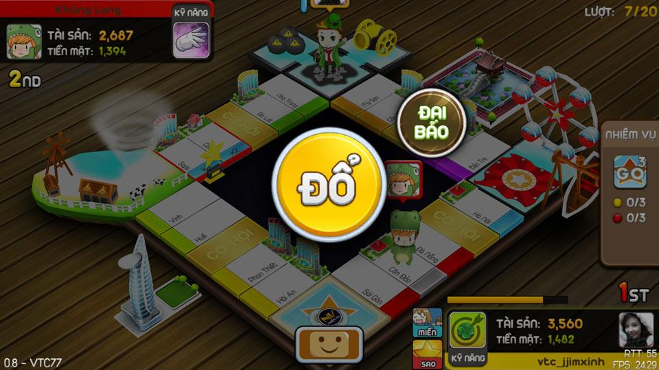 VTC Mobile trình làng game mới Cờ Tỷ Phú 15