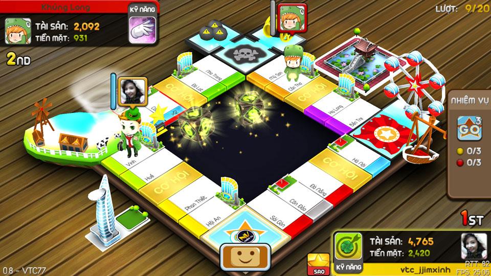 VTC Mobile trình làng game mới Cờ Tỷ Phú 16