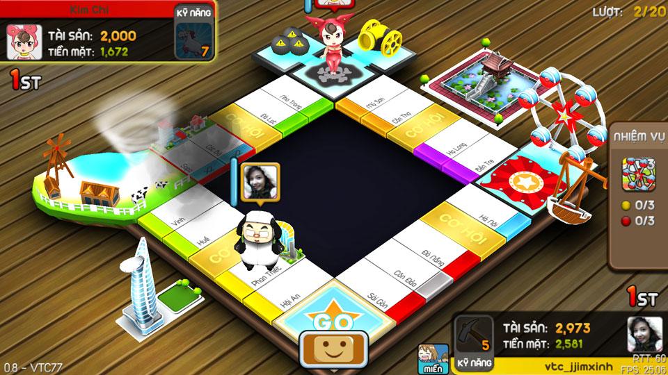 VTC Mobile trình làng game mới Cờ Tỷ Phú 19