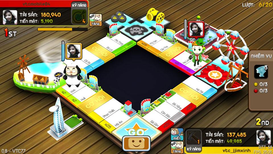 VTC Mobile trình làng game mới Cờ Tỷ Phú 23