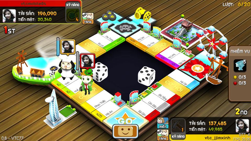 VTC Mobile trình làng game mới Cờ Tỷ Phú 24