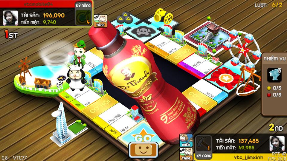 VTC Mobile trình làng game mới Cờ Tỷ Phú 26