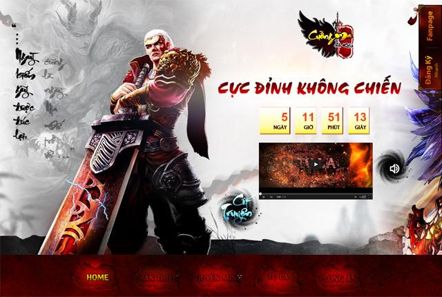 Lộ diện trang giới thiệu Cuồng Ma Chi Kiếm 2