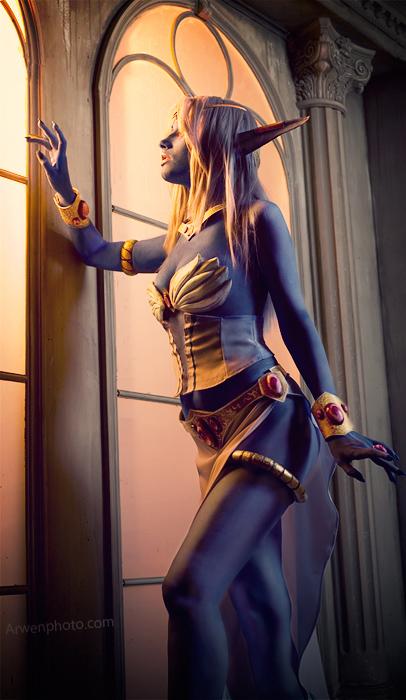 Cosplay tiên nữ hoàng Azshara cực đẹp của Narga - Ảnh 2