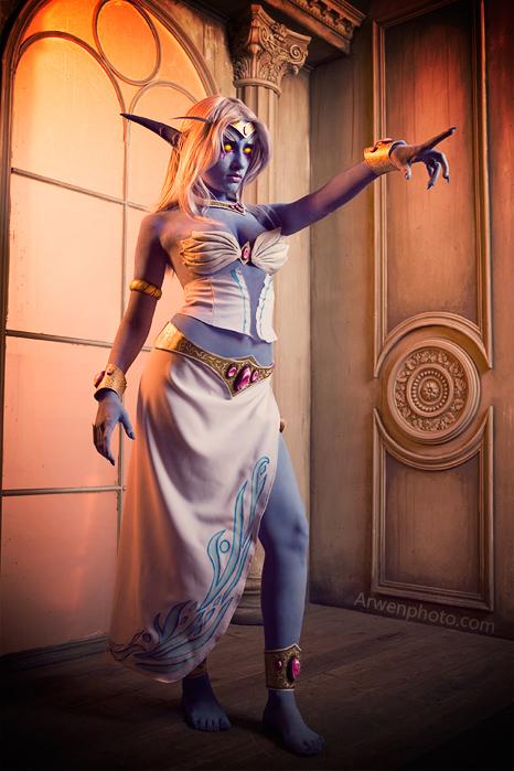 Cosplay tiên nữ hoàng Azshara cực đẹp của Narga - Ảnh 4