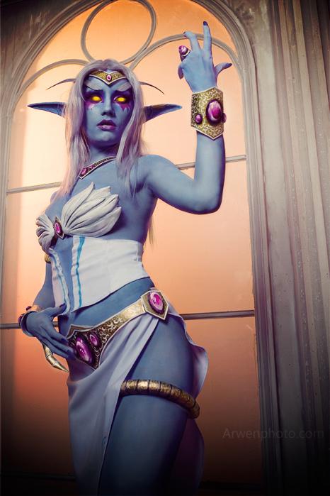 Cosplay tiên nữ hoàng Azshara cực đẹp của Narga - Ảnh 7