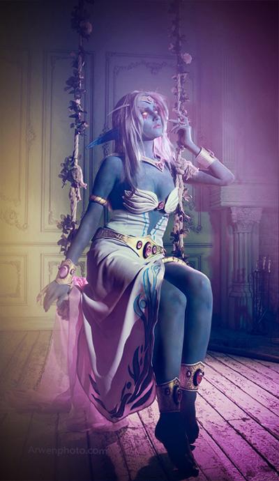 Cosplay tiên nữ hoàng Azshara cực đẹp của Narga - Ảnh 8