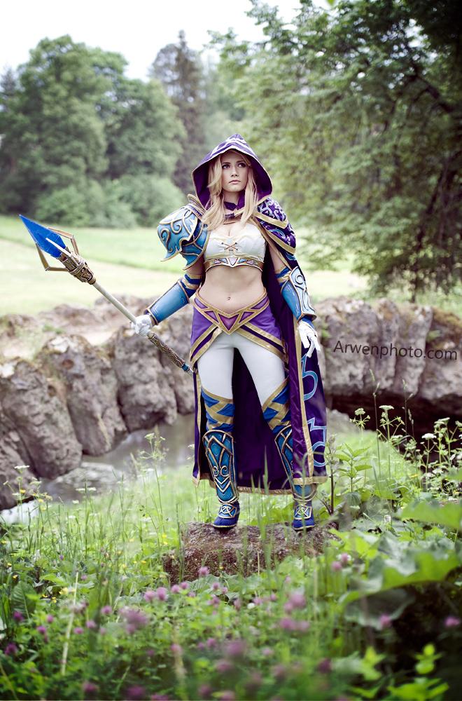 Narga cực quyến rũ với cosplay Jaina Proudmoore - Ảnh 1