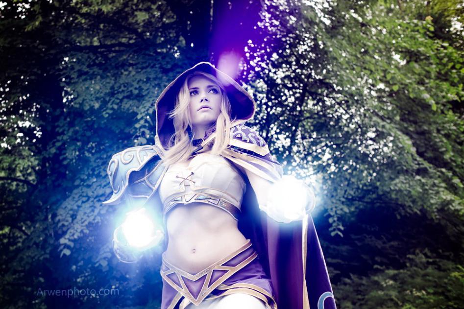 Narga cực quyến rũ với cosplay Jaina Proudmoore - Ảnh 7