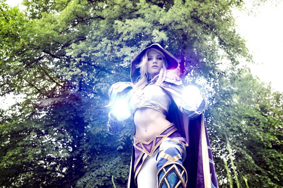 Narga cực quyến rũ với cosplay Jaina Proudmoore - Ảnh 8