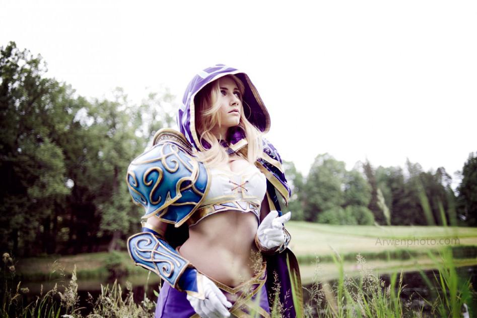 Narga cực quyến rũ với cosplay Jaina Proudmoore - Ảnh 10
