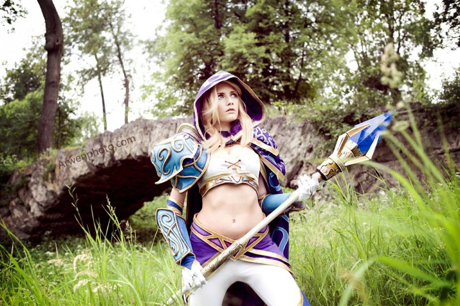 Narga cực quyến rũ với cosplay Jaina Proudmoore - Ảnh 11