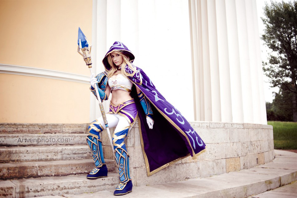 Narga cực quyến rũ với cosplay Jaina Proudmoore - Ảnh 12