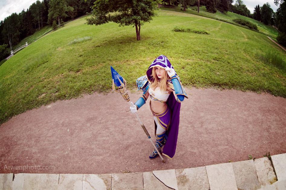 Narga cực quyến rũ với cosplay Jaina Proudmoore - Ảnh 14