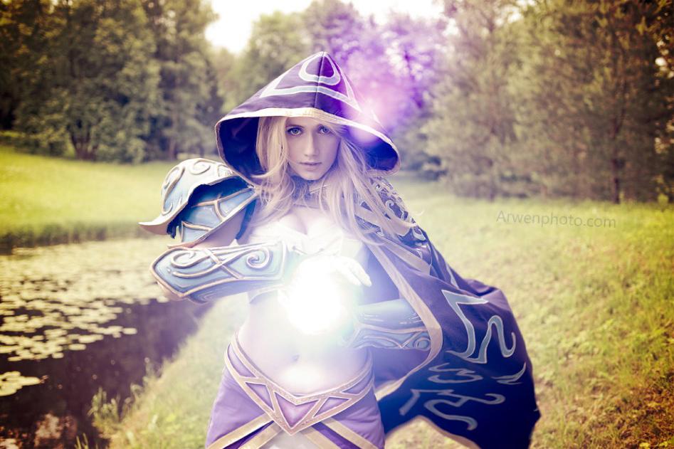 Narga cực quyến rũ với cosplay Jaina Proudmoore - Ảnh 18