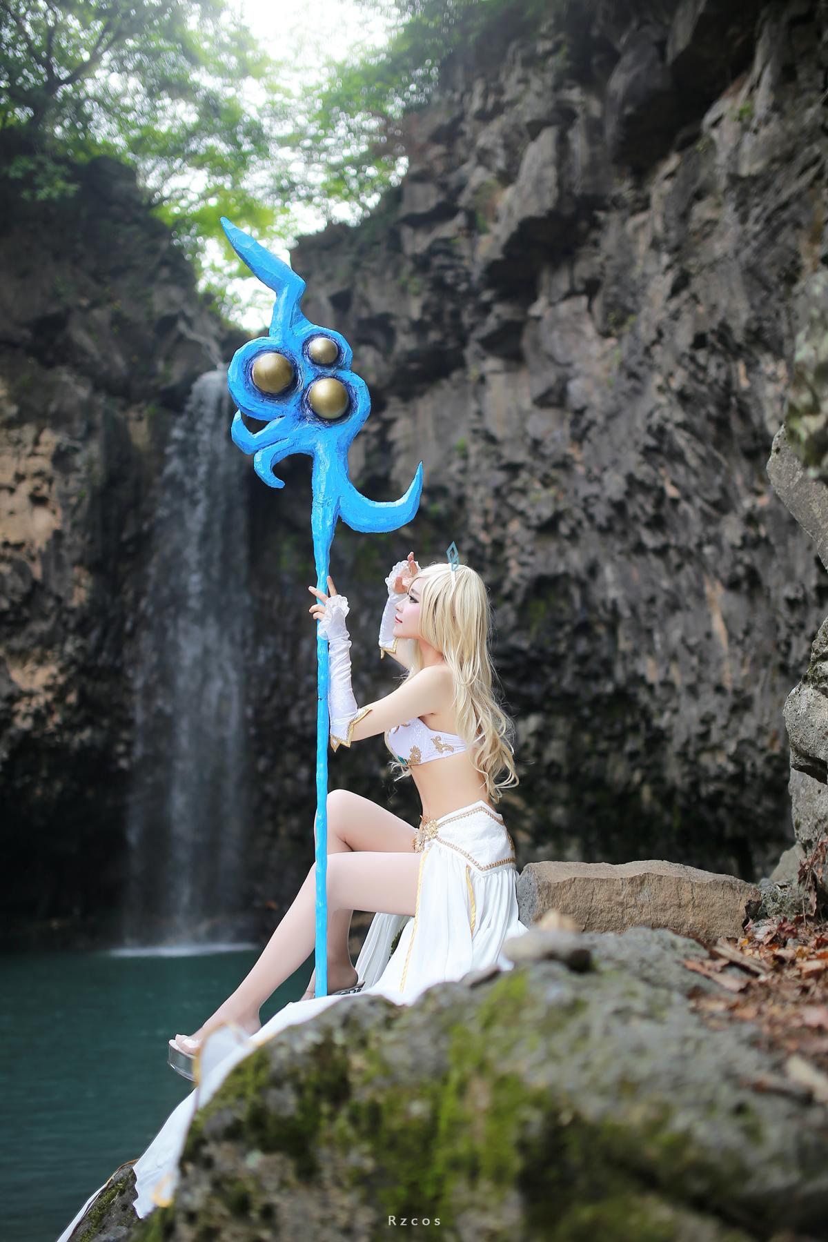 Ngắm cosplay Janna cực quyến rũ của RZ - Ảnh 11