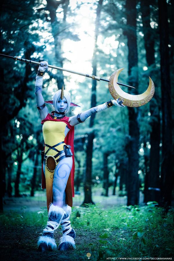 Cosplay Soraka tuyệt đẹp của cosplayer Deco