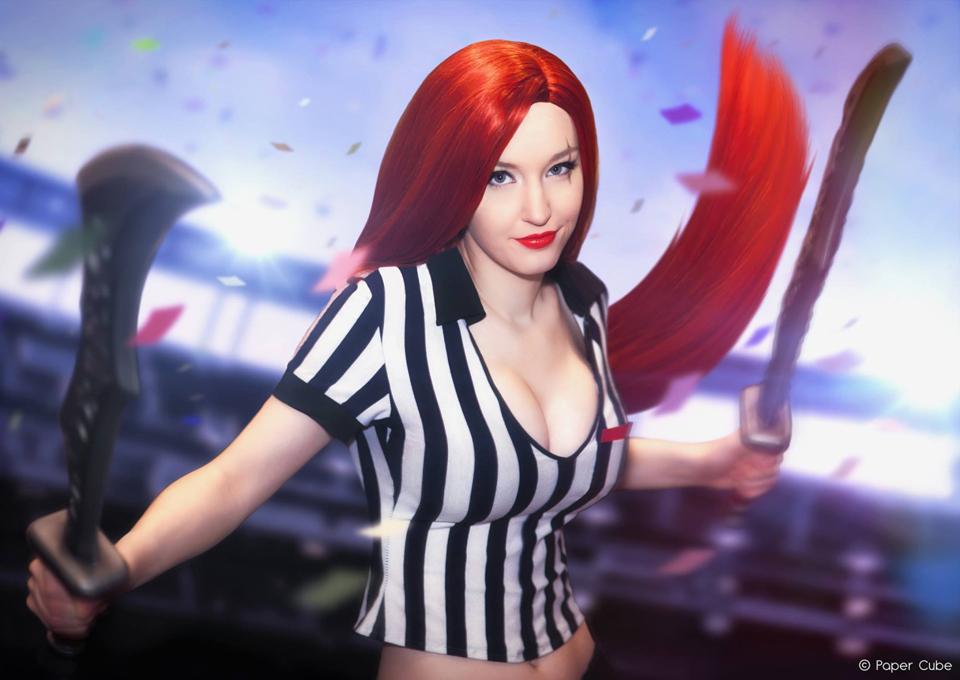 Cosplay Katarina cực sexy của Kelly Jean