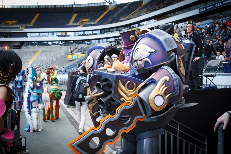 esl one frankfurt 2015 cosplay