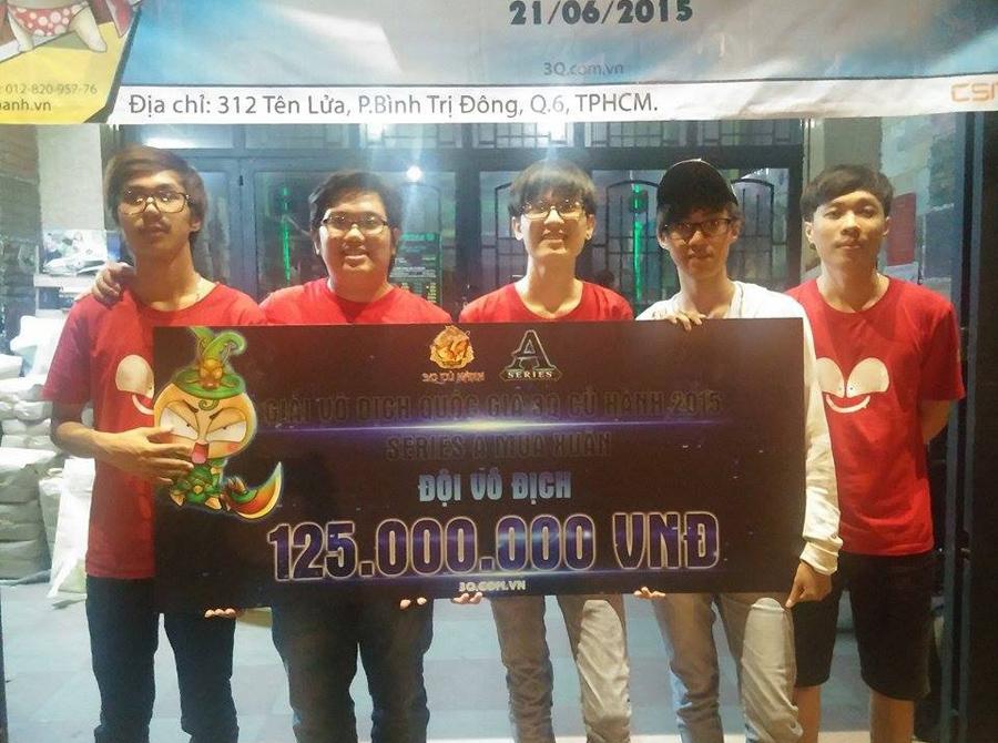 Saigon NLM ROTK vô địch Series A Mùa Xuân 2015 1