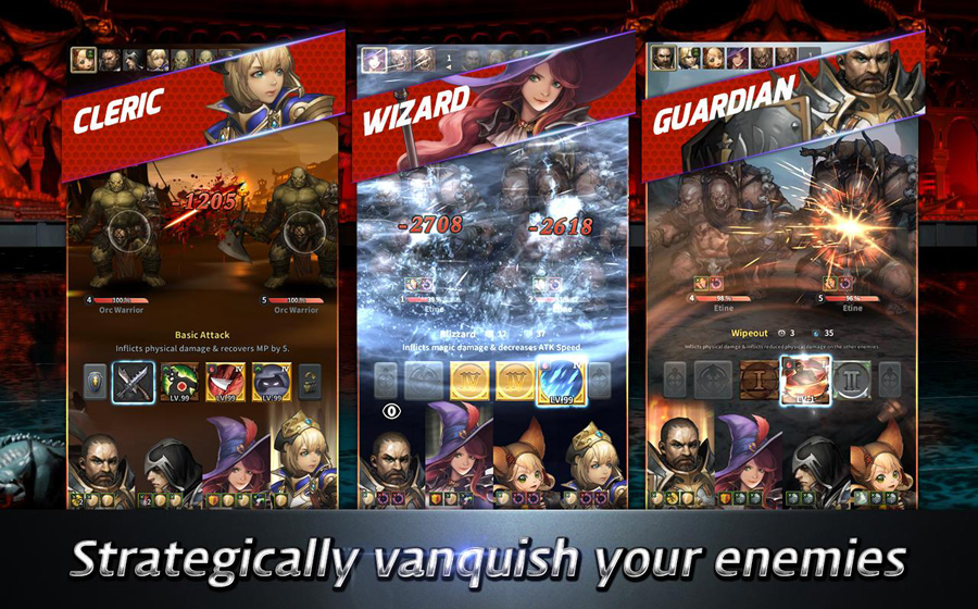 Gamevil phát hành trò chơi mới Chromatic Souls 4