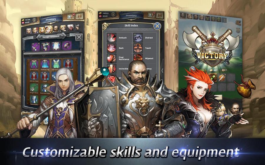Gamevil phát hành trò chơi mới Chromatic Souls 5
